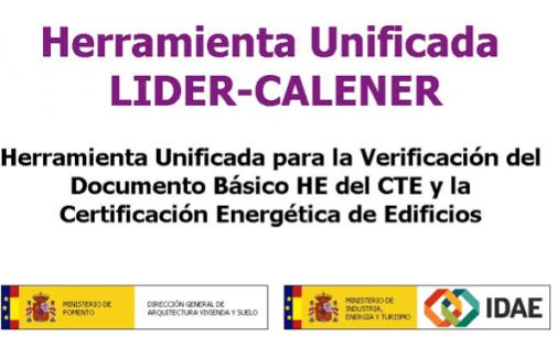 CTE: Nueva versión de la Herramienta unificada LIDER-CALENER (HULC)
