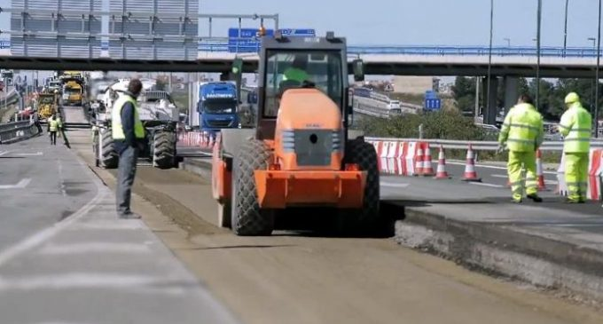 Ferrovial desarrolla un nuevo firme para su uso en carreteras