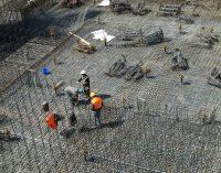 Paralización de las obras de construcción