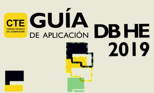 Nueva Guía de aplicación del DB HE 2019
