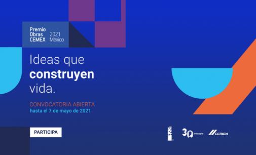 Convocatoria Premio Obras CEMEX 2021