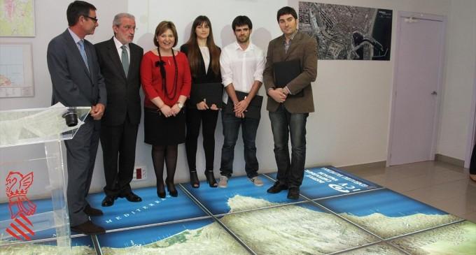 Entrega de los premios Padre Tosca de Cartografía