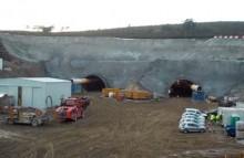Adif concluye la perforación del túnel de Vilavella en Ourense