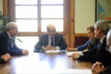 Aragón cooperará con los colegios de arquitectos y de ingenieros de caminos para contar con su asesoramiento en proyectos de interés