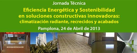 CONSTRUIBLE organiza la Jornada Técnica gratuita Eficiencia Energética y Sostenibilidad en Soluciones Constructivas Innovadoras