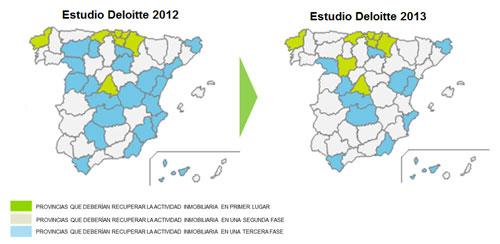 Cantabria, La Coruña, Madrid, Navarra, País Vasco y Valladolid, mejor preparadas para la recuperación de su mercado inmobiliario