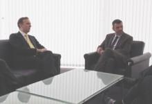 El conseller Vila  i el ministre de Ciutats de Brasil