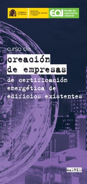 Curso Creación de Empresas de Certificación Energética de Edificios Existentes
