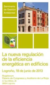 """Seminario La Rioja """"La nueva regulación de la eficiencia energética en edificios"""""""