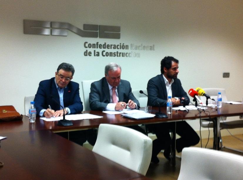 Firmada la Revisión del V Convenio General de la Construcción