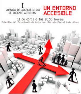I Jornada de Accesibilidad de COCEMFE ASTURIAS