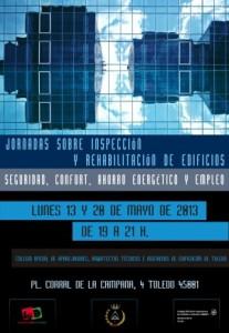 I Jornadas sobre Inspección y Rehabilitación de Edificios Seguridad, Confort, Ahorro y Empleo
