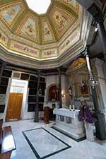 Inauguración de las obras de restauración de la capilla funeraria del cementerio de San Lorenzo y San José