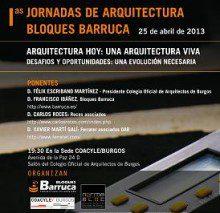 Jornada de Arquitectura ARQUITECTURA HOY, UNA ARQUITECTURA VIVA