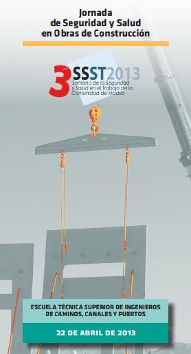 Jornada de Seguridad y Salud en Obras de Construcción en Madrid