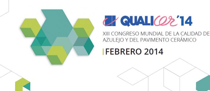 La 13ª edición de QUALICER tendrá lugar en febrero de 2014