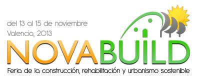 La II edición de Novabuild se celebra del 13 al 15 de noviembre de 2013