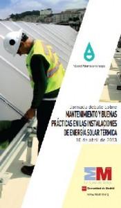 Mantenimiento y Buenas Prácticas en las Instalaciones de Energía Solar Térmica
