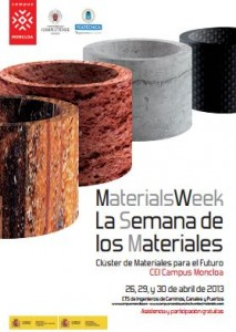 Materials week 2013, La Semana de los Materiales en la UPM
