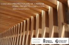 Participa en el Concurso Cátedra Madera y consigue una beca para el el Máster en Diseño y Gestión Ambiental de Edificios de la UNAV