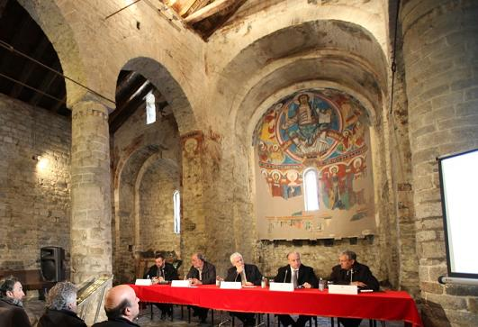 Presentación del proyecto de restauración del ábside de la iglesia de Sant Climent de Taüll